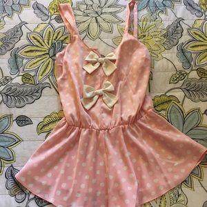 Kate Spade Silk Romper Nightgown